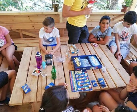 camp games during children's camp