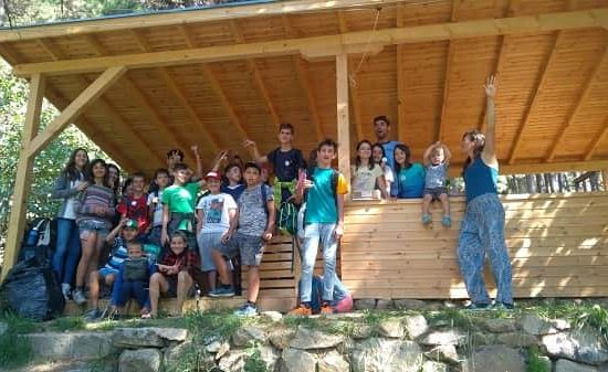 final picture for children's camp