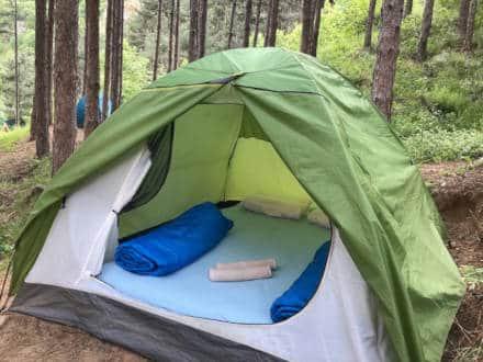 נוף ומיקום של אוהל דו מושבי