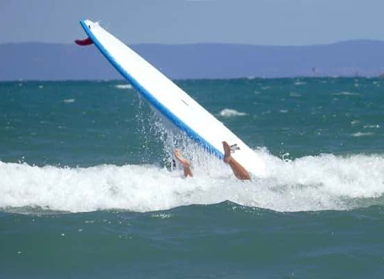 surf fall during summer camp