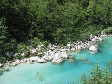 водите на река Соча